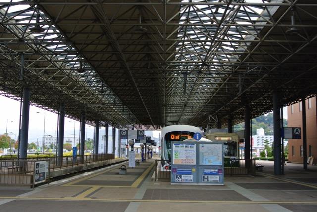 宇品駅ターミナル
